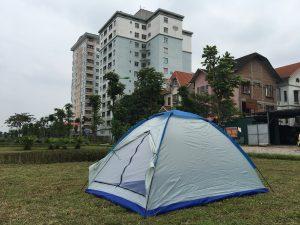 Sốc Sốc với giá lều trại 2 người, lều du lich 2 người giá sốc tại HN, HCM