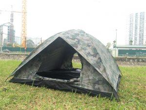 Lều ngụy trang cho gia đình, lều cho 4 người 2 lớp gía tốt tại HN, HCM