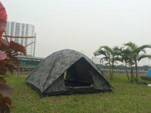 Lều du lịch rằn ri 4 người 2 lớp chất lượng cao tại HN, HCM