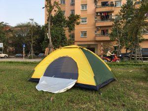Lều du lịch 2 người bản nâng cấp 2018 bảo hàng 5 năm