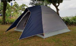 Lều Outwell tegragon cho 6 người 2 lớp bản mới nhất BH 3 năm