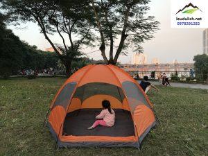 Lều cắm trại 5 người 2 lớp cao cấp bản mới nhất