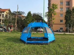 Lều cắm trại 5 người tự bung 2 lớp