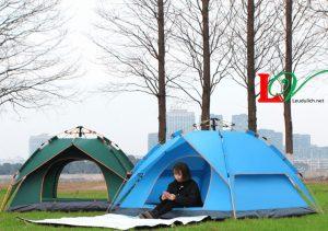 Lều cắm trại 4 người 2 lớp mẫu mới nhất năm nay