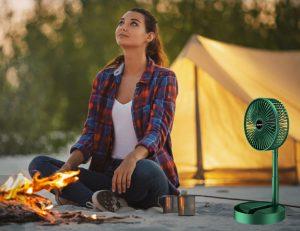 Quạt treo lều, quạt mát cho những chuyến dã ngoại cắm trại